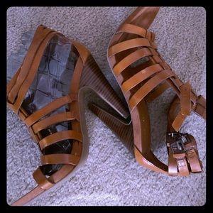 "Nine West leather 2"" heel shoes"